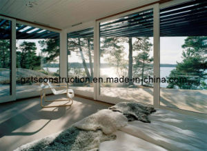 Sliding Door Aluminum Door with Double Toughed Glass Comply with AS/NZS2208 pictures & photos