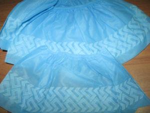 Disposable Nonwoven Medical Non Slip Shoe Cover pictures & photos