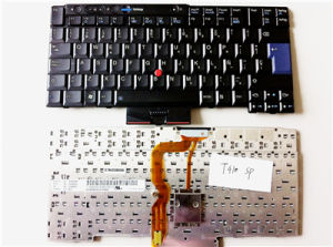 Spanish Laptop Keyboard for IBM Thinkpad T410 X200 pictures & photos