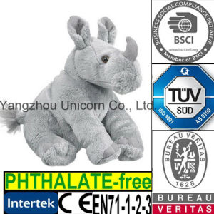 CE Baby Gift Soft Stuffed Animal Rhinoceros Plush Toy pictures & photos
