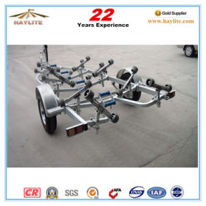 Cheap Hot DIP Galvanized 5.8m Boat Trailer pictures & photos