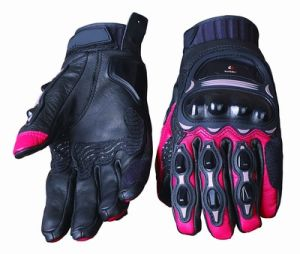 Motorcycle Leather Gloves (HF-301 05)