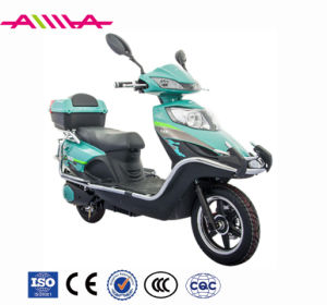 Long Distance Range Electric Motorcycle with Super Big Cargo Box pictures & photos