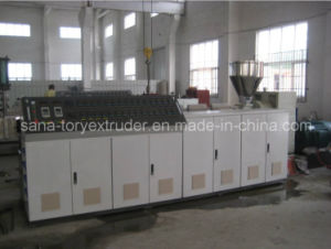 Plastic Double Screw Extruder/Conical Twin Screw Extruder/PVC Extruder Mavhinery pictures & photos