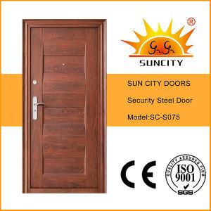 European Style Modern Security Steel Door (SC-S075) pictures & photos