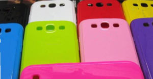 Colorful Soft TPU Gel Cover Case for Samsung Galaxy S Iii S3 I9300 Mix Color (T102)