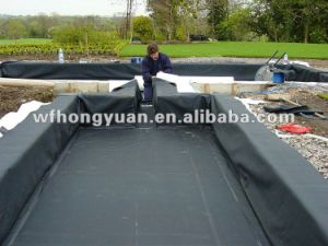 Pond Liner /Pool Underlayment/ Roofing Material /Basement Waterproof /EPDM  Rubber