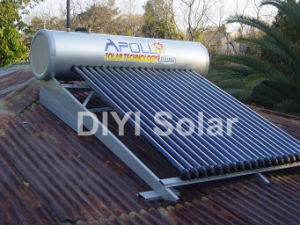 High Pressure Solar Hot Water Heater for Slope Roof