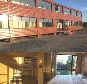 High Quality Prefab/Prefabricated Luxury Container House for Hotel pictures & photos