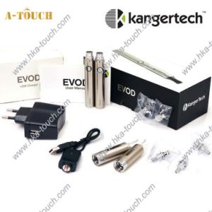 Quality Kanger Evod Start Kit, 650mAh Battery, Colorful Atomizers