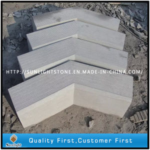 Chinese Limestone and Bluestone Kerbstone pictures & photos