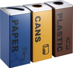 Best Selling Garbage Bin for Airport Use (HW-157) pictures & photos