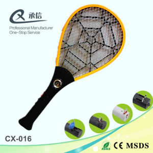 ABS High Efficiency Electric Fly Swatter with LED pictures & photos