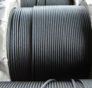 Ungalvanized Steel Wire Rope with Good Quality pictures & photos