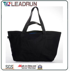 Gift Paper Nonwoven Shopping Bag Leather Cotton Canvas Handle Shopping Bag (X026) pictures & photos