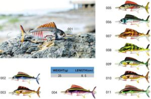 Lead Free Fishing Tackle Realistic Lifelike Fish Pattern Fishing Lure pictures & photos