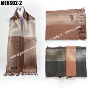 Fashion Long Cashmere Man Scarf Mens02-2