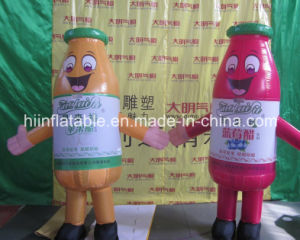 High Quality Custom-Made Inflatable Moving Cartoons, Inflatable Bottle pictures & photos