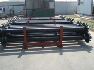 Semi-Trailer American Style Axle/Long Track/10 Holes/High Quality/13000kgs Axle pictures & photos