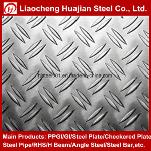 High Quality Ms Low Carbon Q235 Checkered Steel Plates pictures & photos