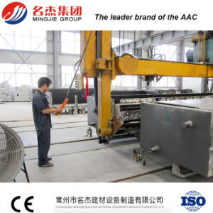 4.8 Mould Mingjie AAC Block Plant for India pictures & photos
