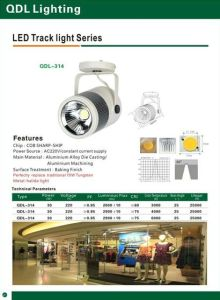 30W COB Sharp Track Light Qdl-314