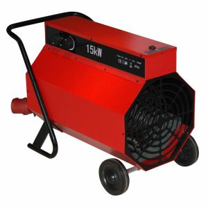 Portable Industrial Space Heater with Handle and Wheel/Electrical Heater pictures & photos