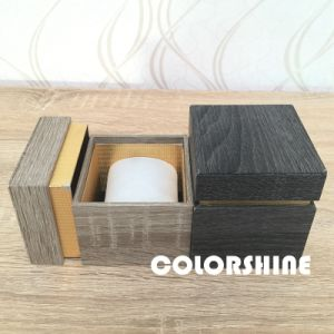 Wooden Like Paper Watch Packing Gift Box