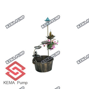Resin Birdbath with Fountain (W/Pump)