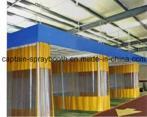 Car Spray Booth Equipped Preparation Station with High Quality pictures & photos