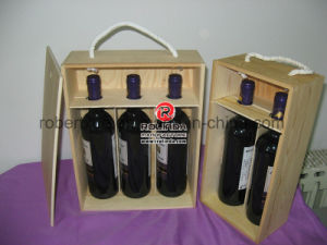 Wine Gift Wooden Box Wholesale pictures & photos