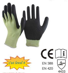 Aramid Fibres Cut Level 4 Cut Resistant Gloves