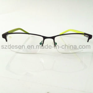 High Quantity Wholesale Custom Half-Rim Stainless Optical Frame pictures & photos