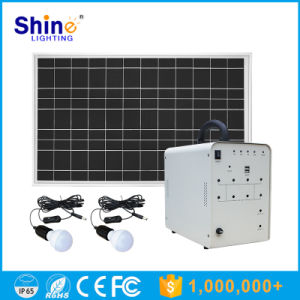 50W Solar Home Light with 5W LED Lamps pictures & photos