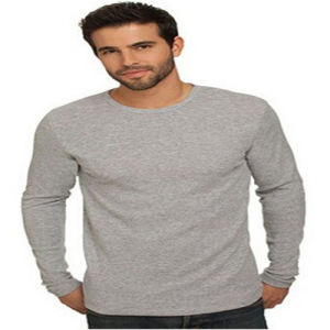 High Quality Blank Cotton Long Sleeve T-Shirt pictures & photos