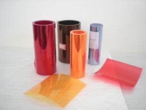 Pharmaceutical Packaging PVC Rigid Film with Blue Tone pictures & photos