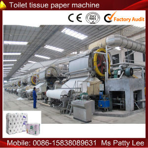 1880mm/150 5 Ton/Day Toilet Tissue Paper Making Machine pictures & photos