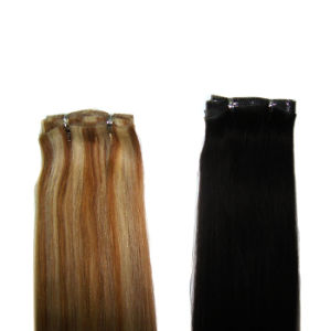 Wholesale 100% Human Hair Skin Weft, Human Hair PU Weft pictures & photos