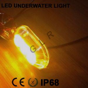 Trucks LED Tail Light 9watt Amber Color (G3L9WR)