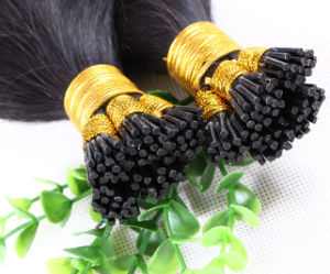 Wholesale Price 100g Set 1g 100% Human Hair Remy Straight I-Tip Hair Extension
