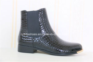 Newest Elastic Casual European Lady Ankle Boot pictures & photos