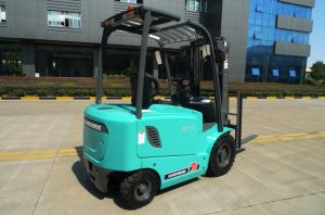 2.5Ton Four-wheel Electric Forklift pictures & photos