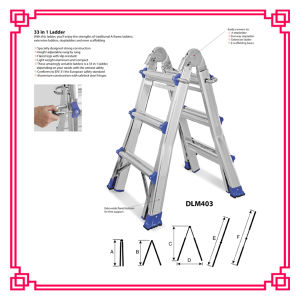 Aluminum Little Giant Ladder pictures & photos