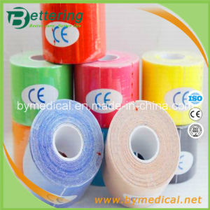 Sports Muscle Therapy Tape 5cmx5m with Various Colours pictures & photos