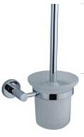 Bathroom Fitting Stainless Steel Toilet Brush Holder (CX-046)
