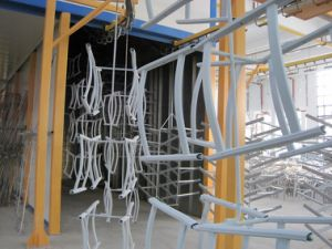 Guard Rail Powder Coating Line pictures & photos