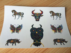 Ce/RoHS/Reach Skin Safe Inkjet Laser Temporary Tattoo Paper pictures & photos