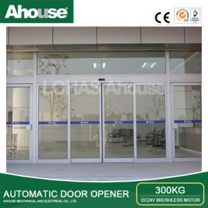 Ahouse DC24V Automaitc Glass Sliding Door Opener pictures & photos