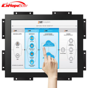 Open Frame Metal Case 19 Inch Capacitive Touch Screen Monitor with Wall Mounting pictures & photos