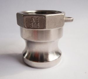 a Type Camlock Coupling in Stainless Steel for Pipe Connection pictures & photos